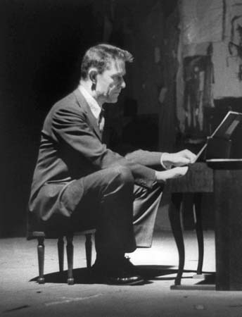 John Cage Playing Live