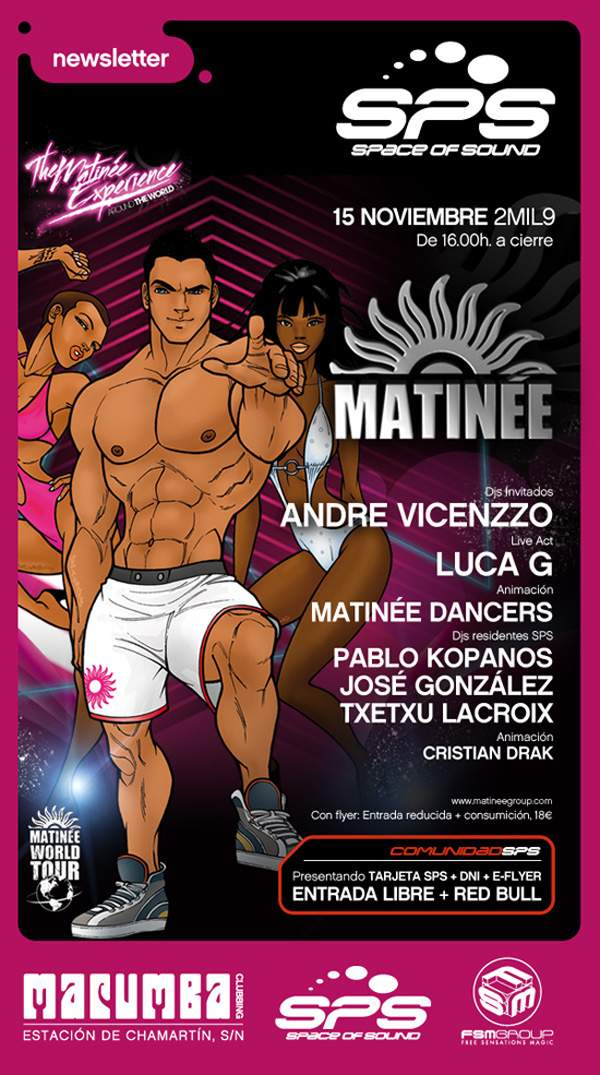 Matinee- Space Of Sound 15-nov-09