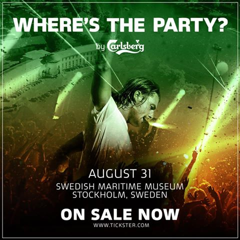 Dj Axwell @ Where's The Party Estocolmo 31 Agosto 013