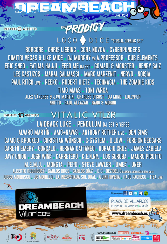 Cartel Dreambeach 2013