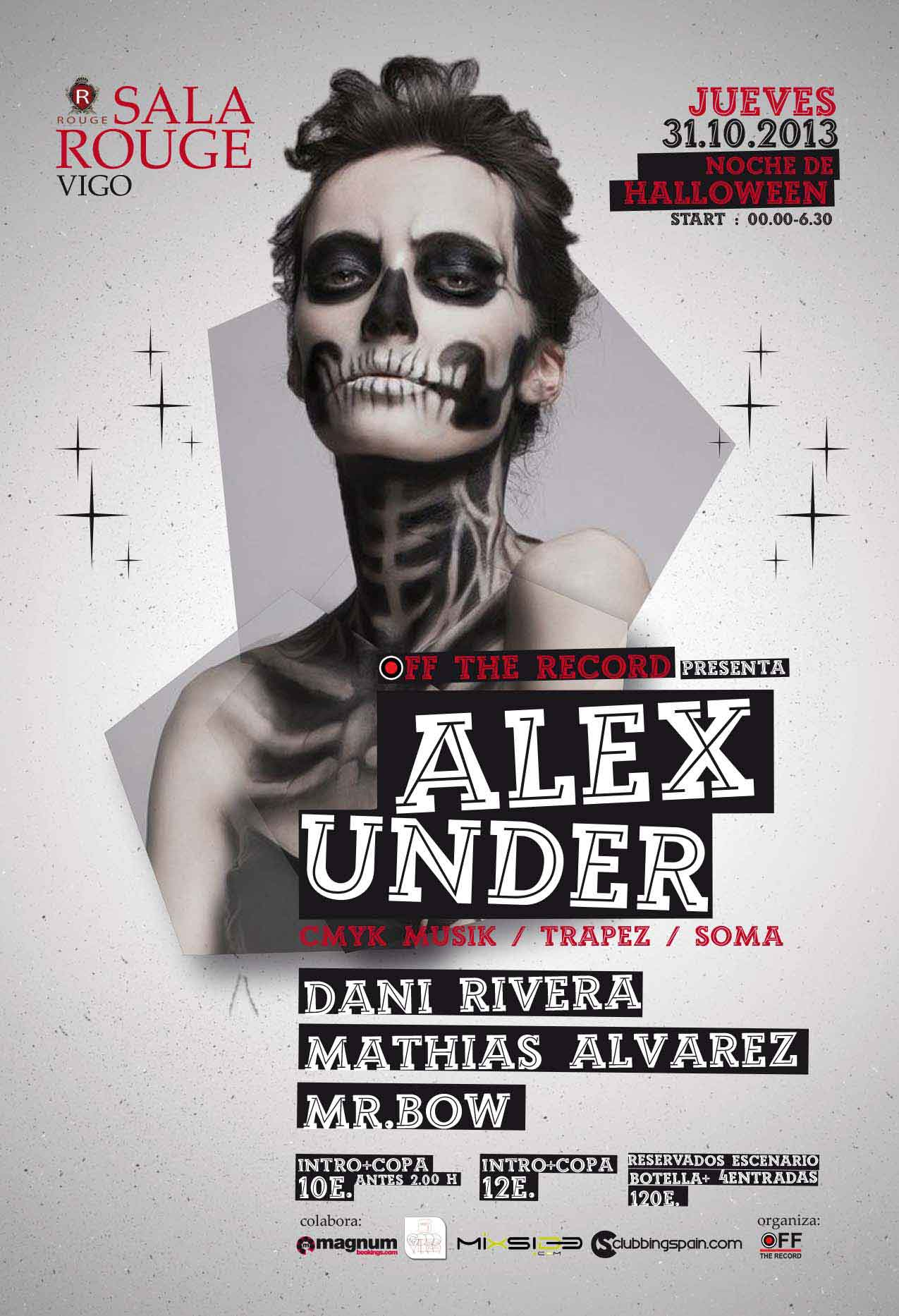 Alex-Under--Dani-Rivera--Mathias-Alvarez-@-Halloween-Sala-Rouge-Vigo-2013