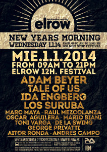 New Years Morning at Elrow