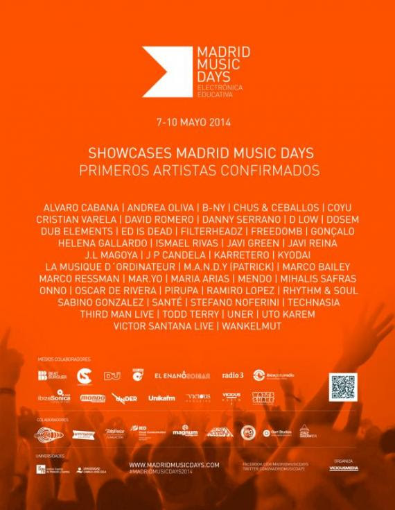 Madrid Music Days showcases oficiales