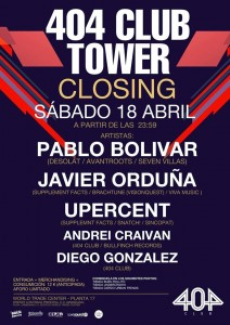 404 Club Tower Closing Party