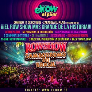 Elrow Goes To El Pilar Zaragoza